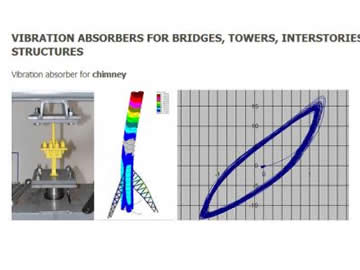 VIBRATION ABSORBERS FOR BRIDGES, TOWERS, INTERSTORIES STRUCTURES